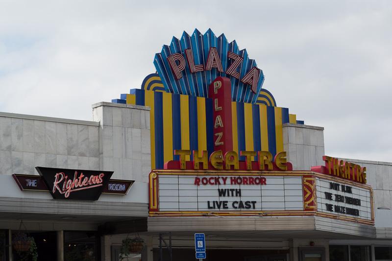 The Plaza Theatre, Atlanta - BEFORE